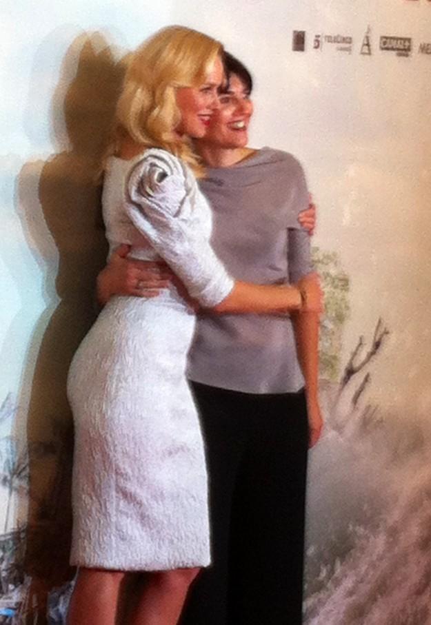 Naomi Watts y María Belón