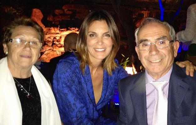 Foto con los padres del director