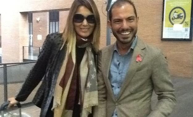 Con Raúl Romero