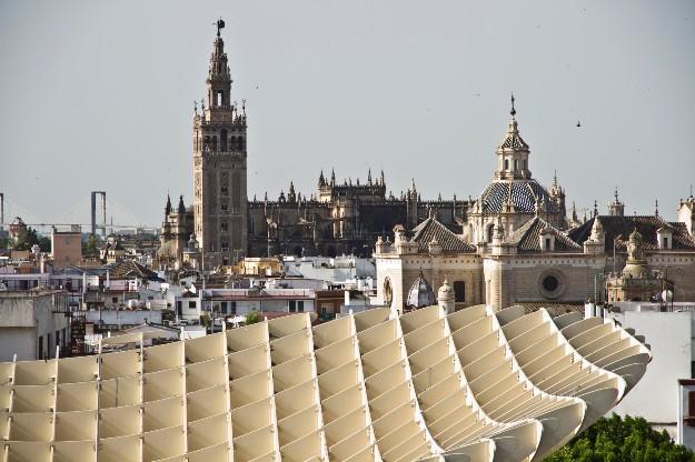 Metropol Parasol de Sevilla (Vía| Pepe Márquez)