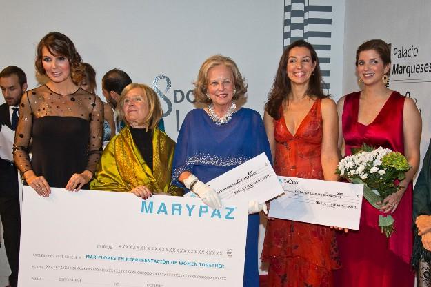 Joana Caparrós,  María Luisa de Prusia, Sra. Gómez Acebo y Margarita Vargas (Vía| Octavio Sáez)
