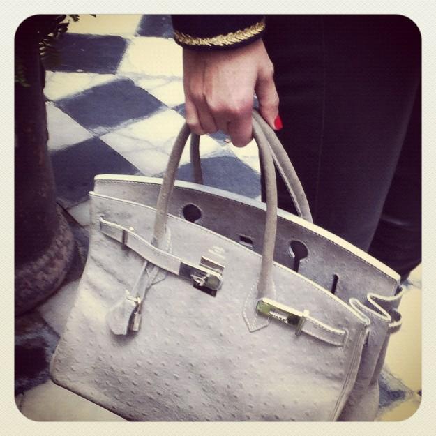 Mi bolso de Hermès