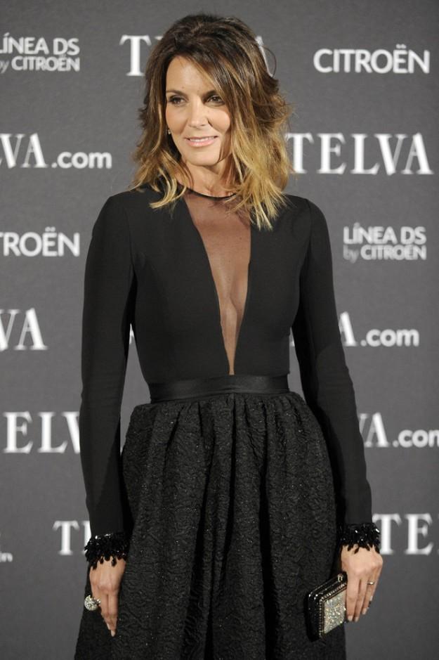 El resultado final fue el vestido negro de Dior