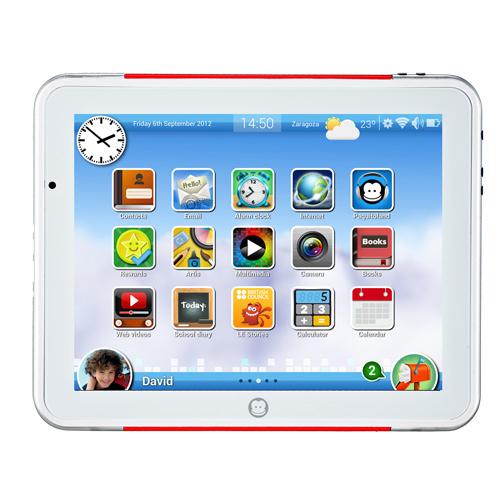 Tableta infantil SuperPaquito, para que disfruten del 2.0 desde pequeños  (Vía| Imaginarium)