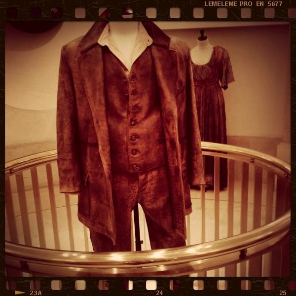 El personaje Lucero de Divinas Palabras llevó este traje en piel y algodón