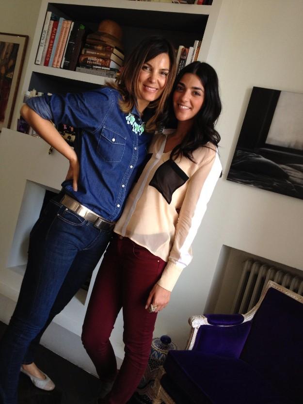 Con Filippa Neto, una de las creadoras