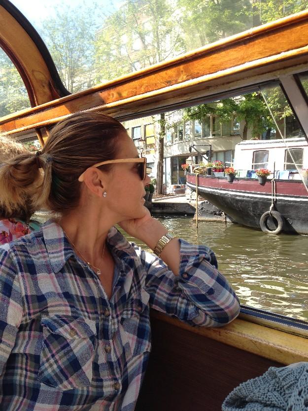 Amsterdam en barco