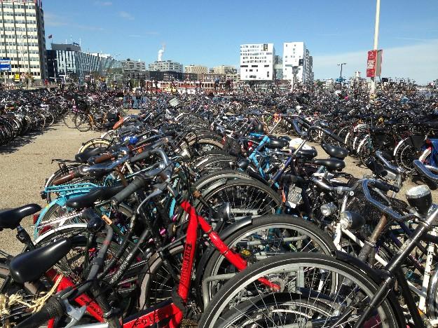 parking bicis Amsterdam