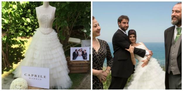 Vistió a Clara Lago de novia en 8 apellidos vascos