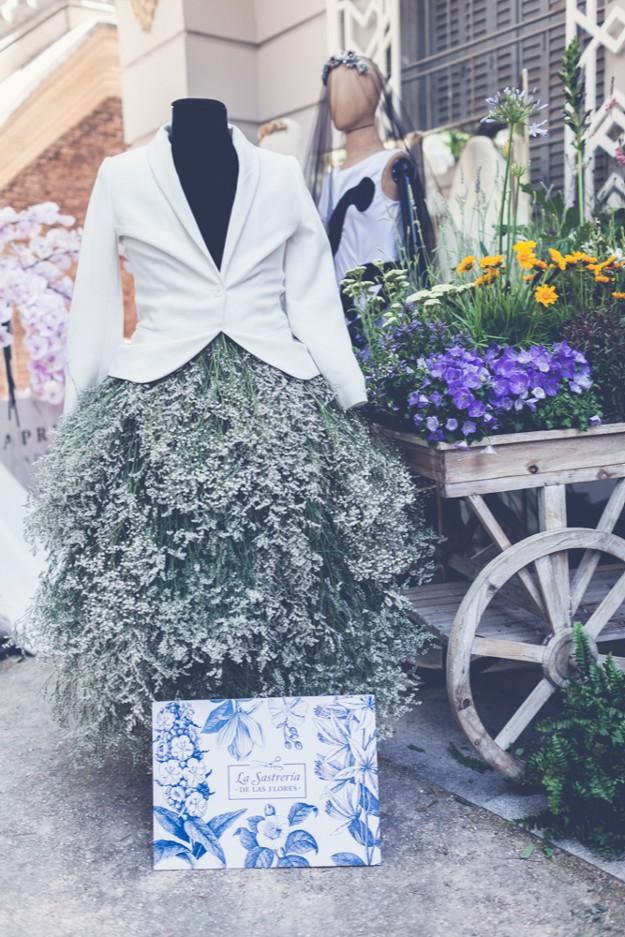 Stand de La Sastrería de las flores. Foto: Elena Bau