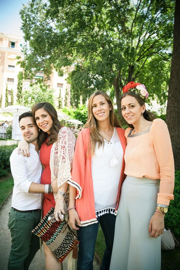 Con María Luisa y Elena de Unidad Editorial y organizadoras del evento y Manuel de Vivar