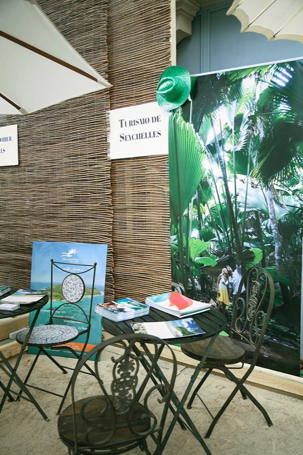 Stand de Turismo de Seychelles