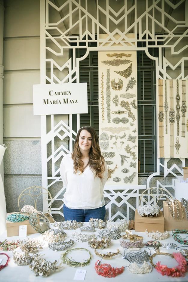 Stand de Carmen María Mayz