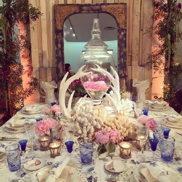 Impresionante montaje a cargo de Wedding Planners y El Lebrillo