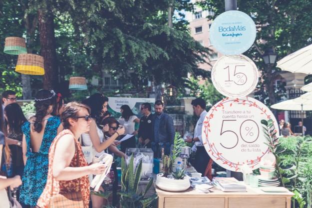 Stand de BodaMás. Foto: Elena Bau