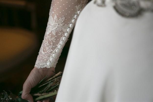 Vestido de Covadonga Plaza. Foto: Mercedes Blanco