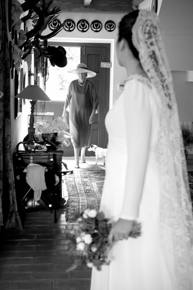 Foto: Mercedes Blanco. Vestido de Lemoniez