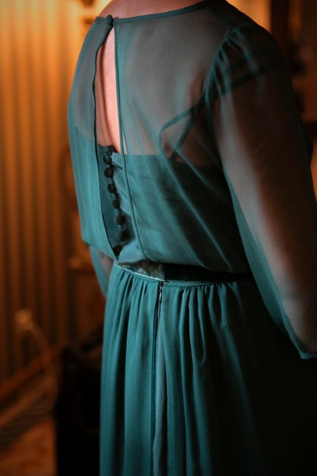 Foto: Mercedes Blanco. Vestido de Marcos Luengo