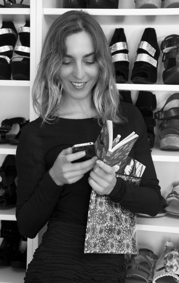 Maite Sebastiá, redactora jefe de moda de TELVA.