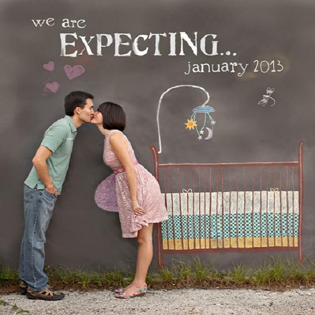 4 formas de anunciar embarazo