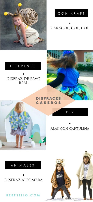 DISFRACES caseros carnaval niños
