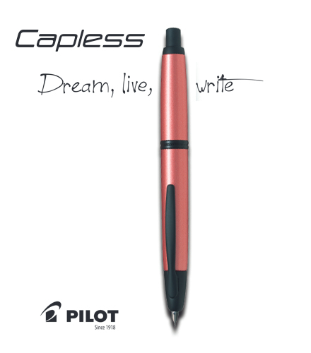 Consigue la pluma PILOT CAPLESS