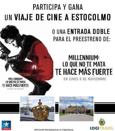 ¡Ven al cine y gana un viaje a Estocolmo!