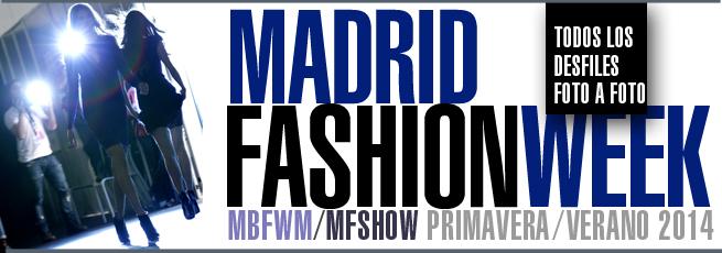 Pasarela de Madrid Primavera-Verano 2014