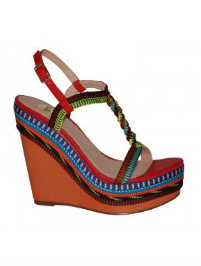 Online By Exe Telva sandalias Shoes shopping Cuña BoWrCedx