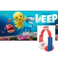 Consigue con Deep, la película de animación de este otoño, unos auriculares de JVC