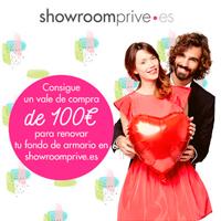 Consigue un voucher por valor de 100 euros en Showroomprive