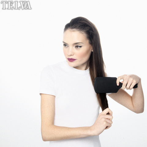 Utiliza el cepillo cuando el pelo esté seco -TELVA
