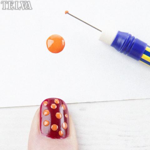 Esmalta tus uñas con lunares - TELVA
