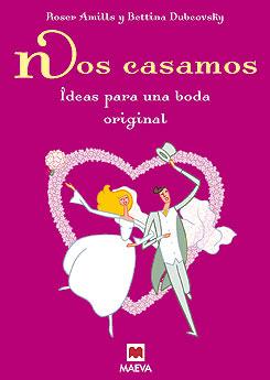 Divertida portada del libro Nos casamos