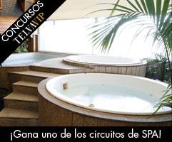 Concurso circuito de SPA en el Castellana Zen Spa.