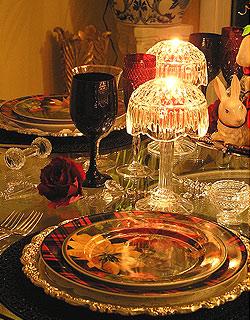 Los chefs a domicilio no sólo cocinan, también ponen la mesa... así de espectacular.