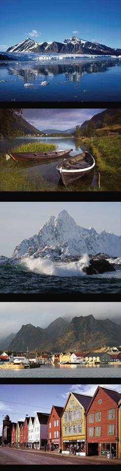 Contraste de paisajes. (Fotos: Nuba y AP/Radial)