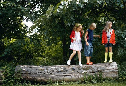 Niños en plena naturaleza- TELVA