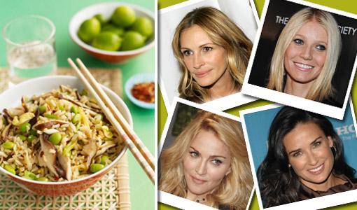 La dieta zen de las famosas - TELVA
