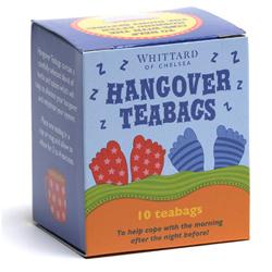 Hangover Teabags de Whittard - Infusiones contra la resaca