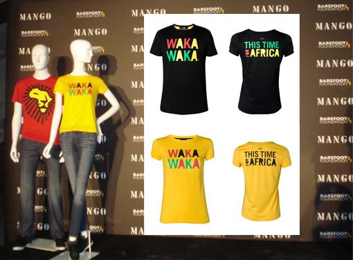 Shakira presenta las camisetas solidarias Waka Waka_TELVA