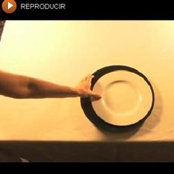 Cómo montar una mesa para comer... ¡en vídeo!