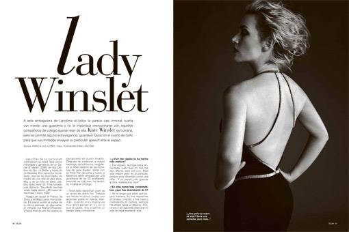 La prensa internacional malinterpreta las palabras de Kate Winslet en TELVA