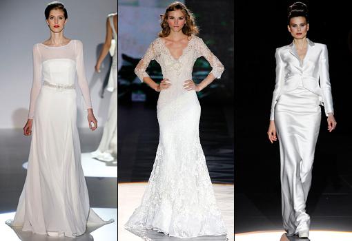 20 vestidos de novia para casarte en otoño, novias - consejos