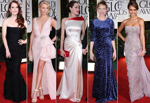 Globos de Oro 2012: looks de celebrities, los premiados, las más guapas... - TELVA