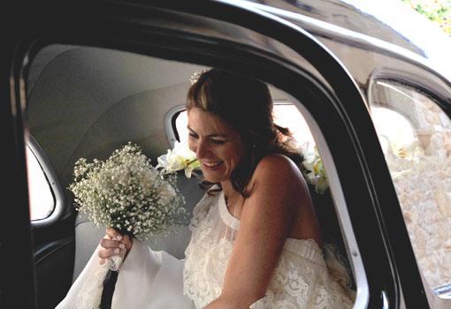novia en el coche- TELVA