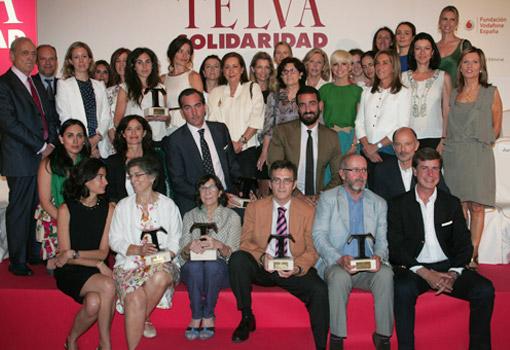 XIX Premios T de TELVA Solidaridad 2012 - TELVA