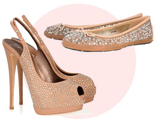 zapatos de novia: de ceremonia y para el baile | telva