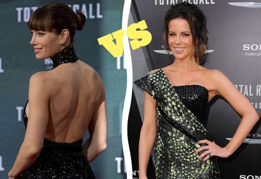 Los estilismos de Jessica Biel y Kate Beckinsale