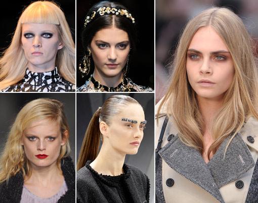 Los peinados y maquillajes que llevarás este otoño